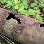 rusty pipe