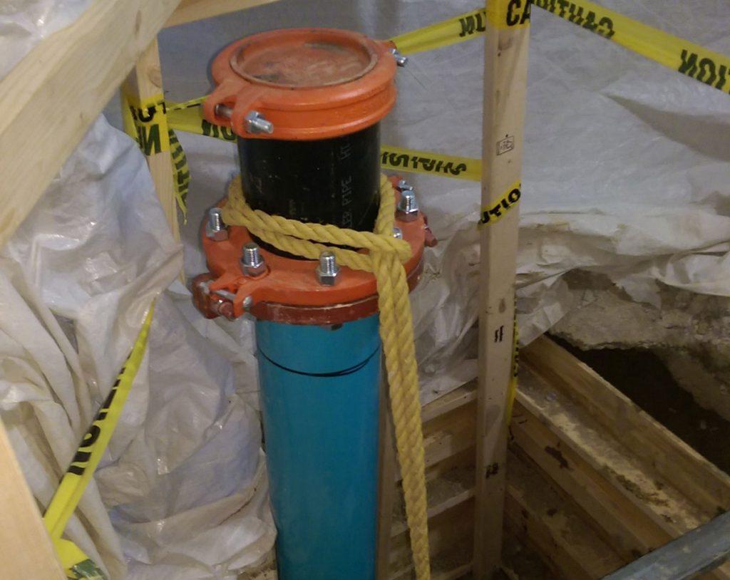Water main repair Toronto