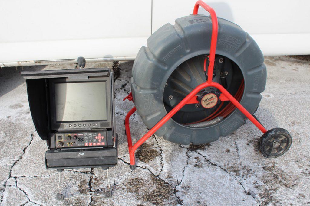 Camera inspection equipment