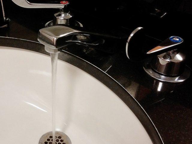 sink drain cleaned