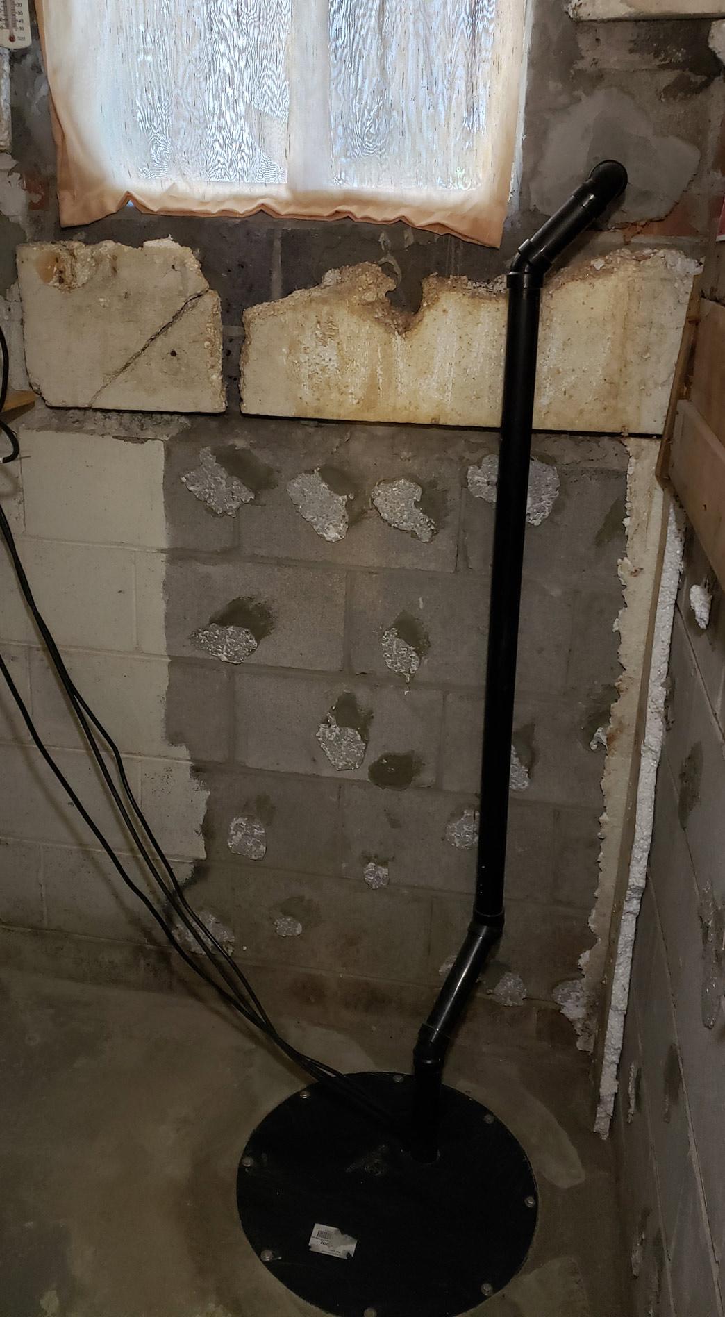 Backup Sump Pump Installation